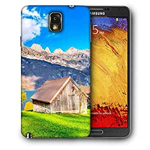Snoogg Wood House Printed Protective Phone Back Case Cover For Samsung Galaxy NOTE 3 / Note III