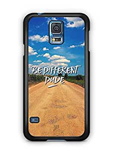 YuBingo Be Different Dude Designer Mobile Case Back Cover for Samsung Galaxy S5