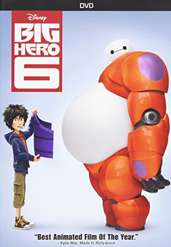 DVD : Big Hero 6 (Dolby, Dubbed, , Widescreen)