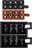 Autoleads PC2-36-4 Car Audio Harness Adaptor Lead Female ISO Male ISO