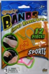Googly Bands Shaped Rubber Bands 12-P…