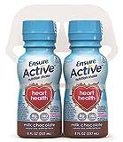 Ensure Active Heart Health Milk Chocolate Shake, 8 Ounce, 16 Count