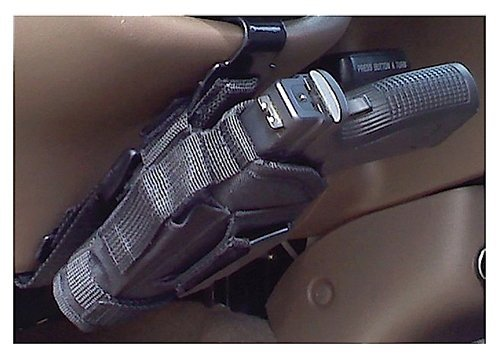 Gum Creek GCC-UVHHM-BLK Vehicle Handgun Mount Clip One Size (Steering Wheel Holster Mount compare prices)