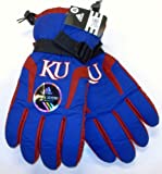 Kansas Jayhawks adidas 2011 Sideline Football Players Nylon Gloves at Amazon.com