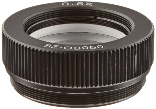 O.C. White Sz-Ob-050 Auxiliary Objective Lens For Prolite Microscopes, 0.5X Magnification