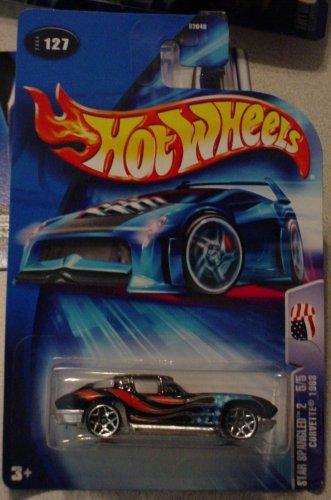Hot Wheels Corvette 1963 Star Spangled 2 5/5 #127 2004 - 1