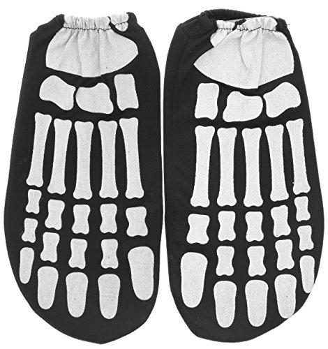 Rubie's Costume Child Glow in the Dark Skeleton Feet- 9in X 5in X 9in