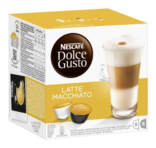 Bewertung für Nescafé Dolce Gusto Latte Macchiato, 3er Pack (48 Kapseln)
