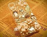 ◆3Dデコ盛り♪♪キラキラ♪ラインストーンケース/iphone5/アイフォン5/専用ケースカバー/ANGEL