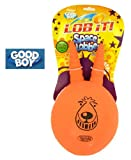 GOOD BOY LOB IT! Space Lobber Giant Dog Toy (Wowzers! It's like a totlly funkadelic toy for your dog dude!Lob it! Space Lobber has been designred speciffically to be the best in throw fetch fun, groovy ergonomic grab handles allow easy grip for all aspec
