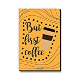 Seven Rays But First Coffee Fridge Magnet