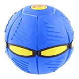Juguetes Juegos Pelota Bola Mágica Volador OVNI Disco Novedad Aire Libre PVC - Azul