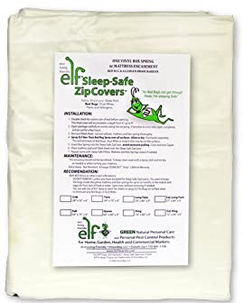 Sleep Safe ZipCover VINYL Bed Bug, Dust Mite and Allergen Proof
