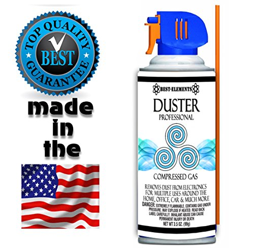 save 29 best elements non toxic and no bitternt compressed air duster can cleaner 3 5 ounce. Black Bedroom Furniture Sets. Home Design Ideas