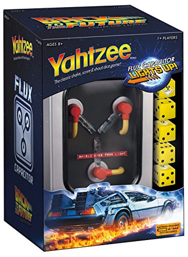 Yahtzee: Back To The Future Collector's Edition Board Game YZ051-348