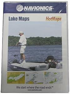 Navionics HotMaps Premium North U.S. Two-Dimensional Lake Maps on SD Card by Navionics