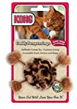 KONG Daddy Pompom Legs Catnip Toy, Cat Toy, Brown/Black