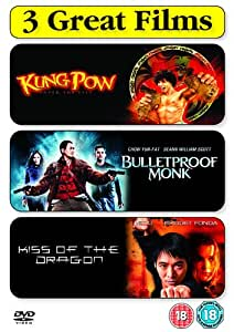 Kung Pow - Enter The Fist/Bulletproof Monk/Kiss Of The Dragon [DVD]