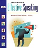 The Challenge of Effective Speaking (with InfoTrac and CD-ROM) (OECD Proceedings) (0534563856) by Verderber, Rudolph F.