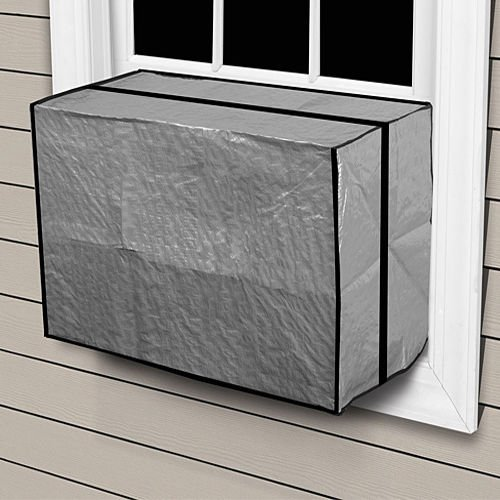 Comfort Zone Outdoor Window Air Conditioner Cover Heavy Duty AC Protection (Large)