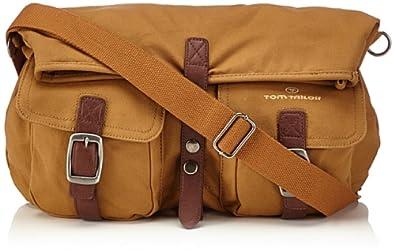 Tom Tailor Acc Womens MATEO Umhängetasche Shoulder Bag Beige Beige (beige 20) Size: 53x38x14 cm (B x H x T)