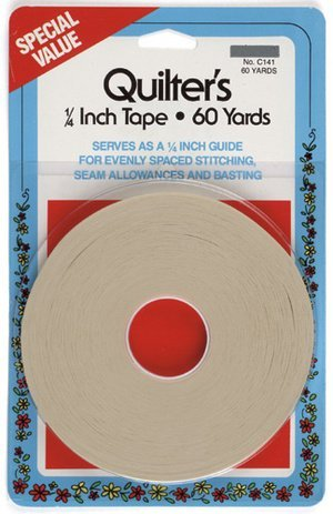 Quilters Tape, 1/4 Inch 60yds by Collins (Quick Quilter compare prices)