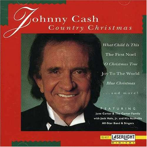 Johnny Cash Country Christmas artwork