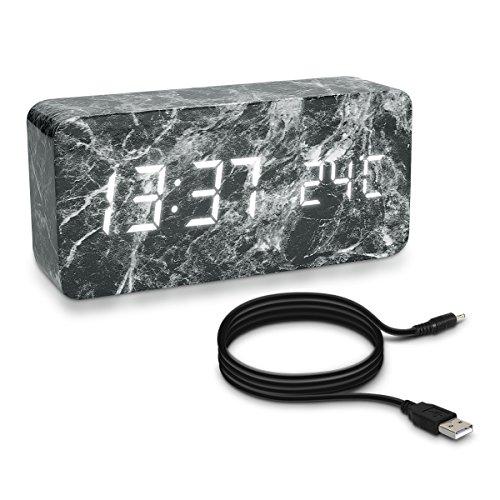 kwmobile-despertador-digital-con-diseno-en-marmol-y-activacion-por-ruido-indicacion-de-temperatura-a