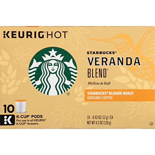 Starbucks Veranda Blend Blonde, K-Cup for Keurig Brewers, 60 Count (K Cups Starbucks Blonde compare prices)