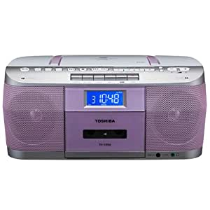 TOSHIBA CUTEBEAT CDラジオカセットレコーダー ピンク TY-CDS6(P)