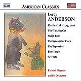ルロイ・アンダーソン:管弦楽名曲集