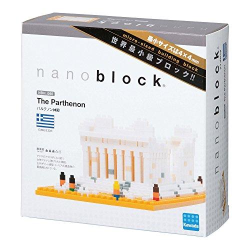 Kawada Nanoblock Parthenon Greece Athens Building Kit