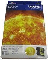 Brother LC-980Y Cartouche d'encre d'origine 1 x jaune 260 pages