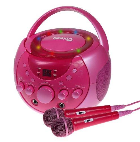 rockjam-karaoke-party-pack-with-2-cd-gs-discs-pink
