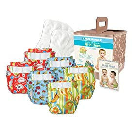 Bumkins Diaper Bundle 6-Pack