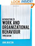 Introduction to work and organization...