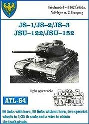 Friulmodel Atl54 1/35 Metal Track W/Drive Sprockets For Is 1, 2, 3 & Isu 122. Light Type.