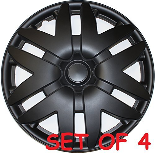 new-16-matte-black-wheel-cover-for-toyota-sienna-2004-2005-2006-2007-hubcap-hub-cap-universal-fit-4-