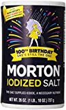 Morton Iodized Salt, 26 oz