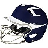 Easton Two-Tone Natural Grip Senior Batting Helmet with Mask