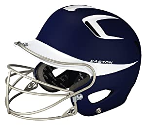Buy Easton Two-Tone Natural Grip Senior Batting Helmet with Mask by Easton