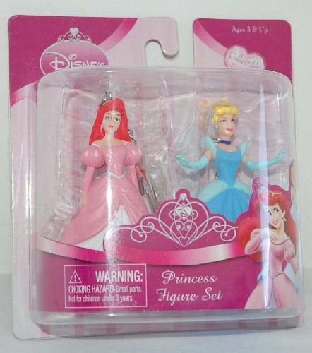 Disney Princess Figure Set - Ariel and Cinderella