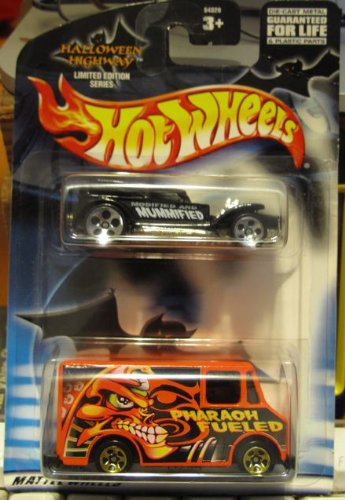 Hot Wheels 2002 Halloween Highway 2 Pack: The Demon & Combat Ambulance - 1