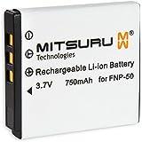 Mitsuru® batterie de rechange pour Fuji FujiFilm NP50
