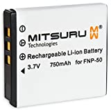 3 Wh 3.7 V Original Mitsuru® Battery For Fujifilm FinePix F600EXR F660EXR F70EXR