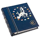Leuchtturm 330256 Álbum para monedas VISTA, de euro, tomo 1 para 12 series de monedas de curso legal