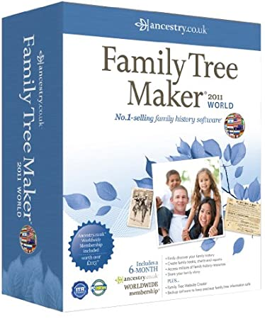 Family Tree Maker 2011 World Edition (PC)