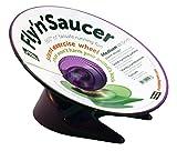 フライング・ソーサー(紫, L) 回し車 ハムスター デグー 円盤型 エクササイズホイール 走るおもちゃ