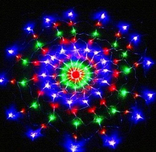 Firefly 120/ 160 Led 110V Colorful Net Light Cobweb Light String Lights For Christmas Festival Hot Light Of Spider Web (Diameter 1.2M 120 Leds)
