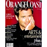 Orange Coast Magazine - September 2006 - Greg Kinnear Cover (Volume 32 Number 9)